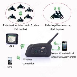 Bluetooth переговорное устройство для шлема