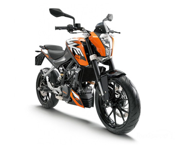 Мотоцикл KTM 125 Duke