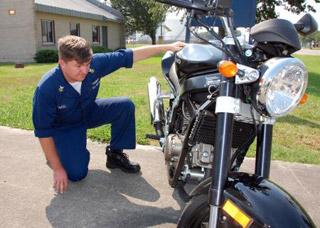 Проверка мотоцикла