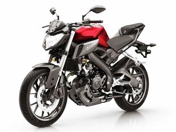Yamaha MT-125 Anodized Red (красный)